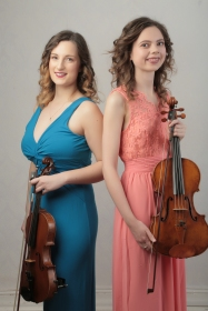With my duet partner Lucy Armstrong