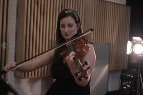 From the Integra Strings Video Shoot