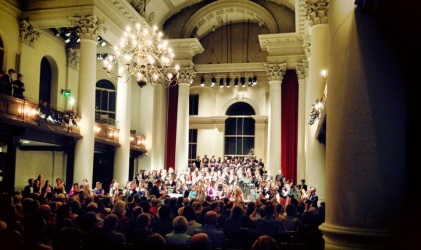 Playing with Orchestra Vitae at St John's Smith Square