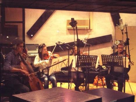 In the Studio Recording for West End Switched Off